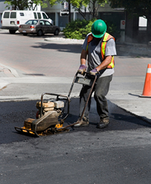 asphalt crack repairs